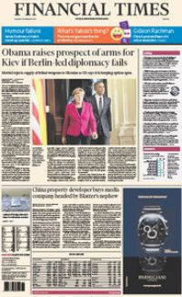 Financial Times Europe 10 February 2015