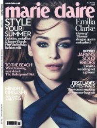 Marie Claire UK Magazine July 2015