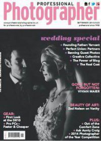 Professional Photographer Magazine (UK) September 2014
