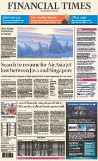 Financial Times Europe 29 December 2014
