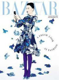 Harper's Bazaar UK - August 2015