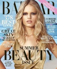 Harper's Bazaar USA Magazine May 2015